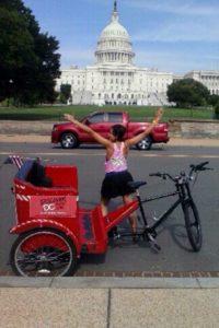 Discover DC Capitol Pedicab Tours