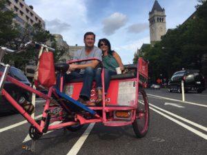 Discover DC Pedicab Monument Tours